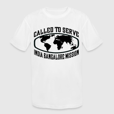 India Bangalore Mission - LDS Mission CTSW - Kid's Moisture Wicking Performance T-Shirt