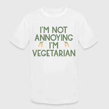 vegetarian vegan veggie rettich radish2 - Kid's Moisture Wicking Performance T-Shirt