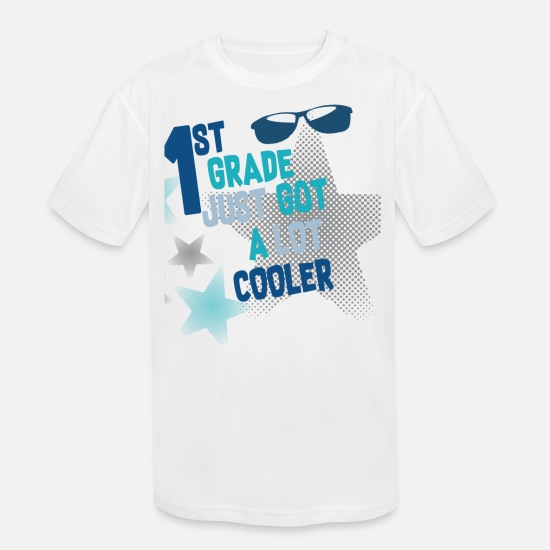 First Grade T-Shirts - 1st Grader First Day of school First Grade - Kids' Sport T-Shirt white