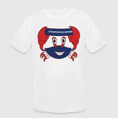 France world champion - Kid's Moisture Wicking Performance T-Shirt