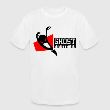 GHOST NIGHT CLUB - Kid's Moisture Wicking Performance T-Shirt