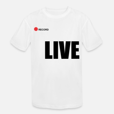 Record Champion Live record - Kids' Sport T-Shirt