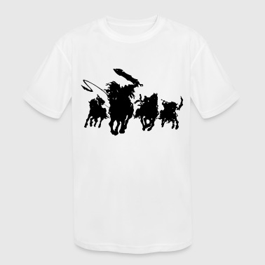 horsemen - Kid's Moisture Wicking Performance T-Shirt