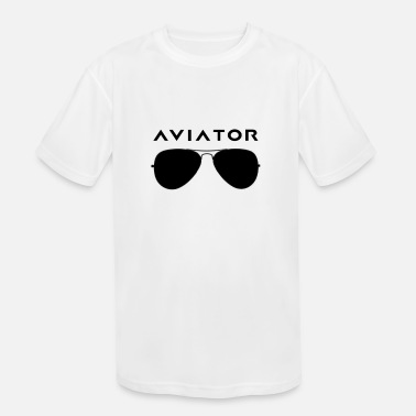 Aviation Aviator Sunglasses - Kids' Sport T-Shirt