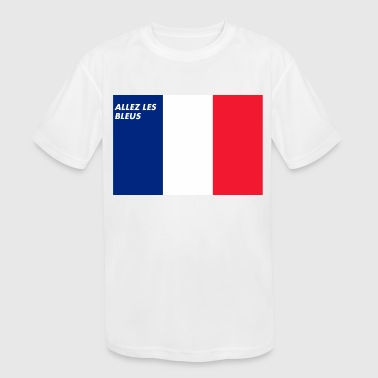 French Love - Kid's Moisture Wicking Performance T-Shirt
