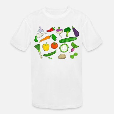 Vegetables vegetables - Kids' Sport T-Shirt