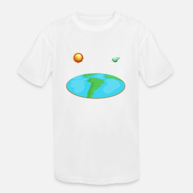 Scientology The earth is flat - Kids' Sport T-Shirt