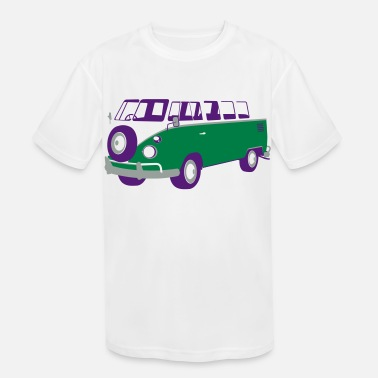 Van/Bus - Kids' Sport T-Shirt