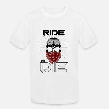 Cars Ride or Die Motorbike Racer Men Women Clothings - Kids' Sport T-Shirt