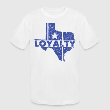 Stay Loyal Loyalty - Kid's Moisture Wicking Performance T-Shirt