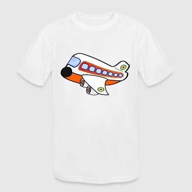 Airplane - Kid's Moisture Wicking Performance T-Shirt