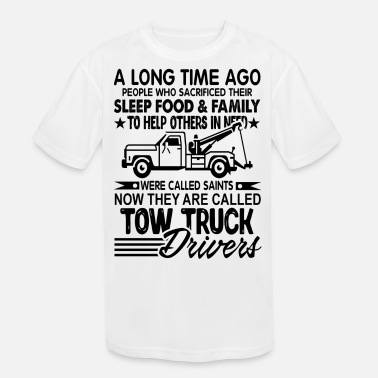 Tow Truck Drivers Shirt - Kids' Moisture Wicking Performance T-Shirt