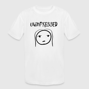 Unimpressed Unimpressed - Kid's Moisture Wicking Performance T-Shirt