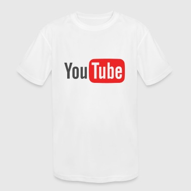 Youtube The Youtube Merch - Kids' Moisture Wicking Performance T-Shirt