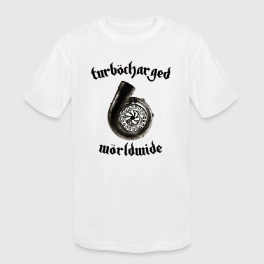 turborharged - Kid's Moisture Wicking Performance T-Shirt