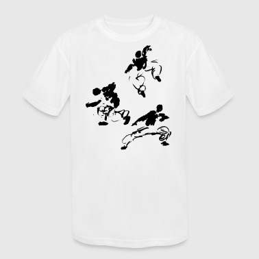 Martial Arts Kung Fu - Kid's Moisture Wicking Performance T-Shirt