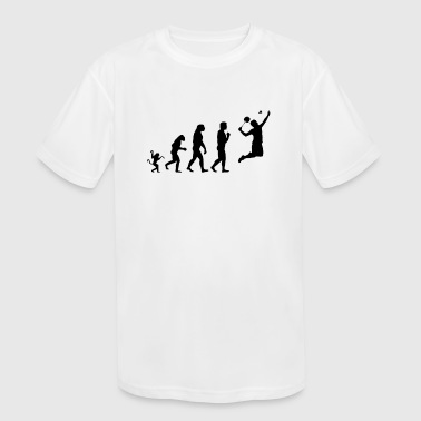 tennis evolution, #tennis - Kid's Moisture Wicking Performance T-Shirt