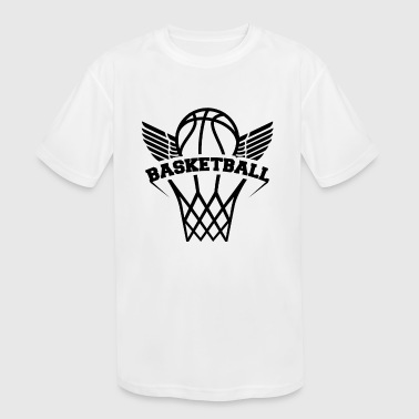 Basketball - Kid's Moisture Wicking Performance T-Shirt
