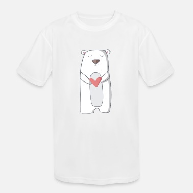 For Kids polar bear - Kids' Sport T-Shirt