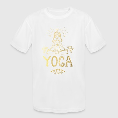 Yoga Girl - Kid's Moisture Wicking Performance T-Shirt