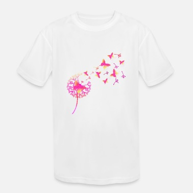Butterfly and dandelion ID2 16-07 - Kids' Sport T-Shirt