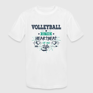 Best Funny Unique Volleyball Team Slogan Gift Idea - Kid's Moisture Wicking Performance T-Shirt