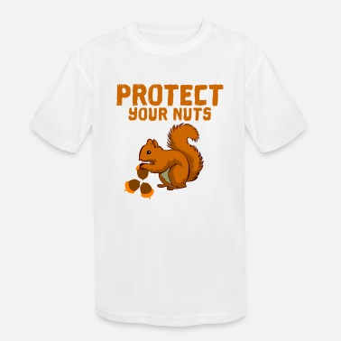 Protect Protect your nuts - Kids' Sport T-Shirt