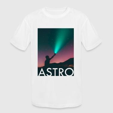 Astro - Kid's Moisture Wicking Performance T-Shirt