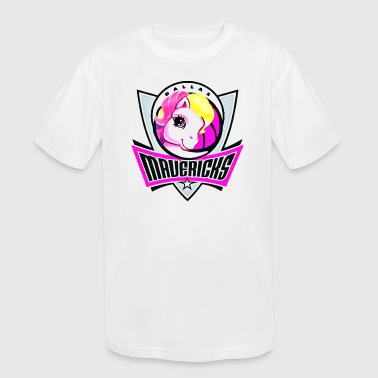 Mavericks - Kid's Moisture Wicking Performance T-Shirt