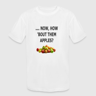 Them Apples Humorous Design - Kid's Moisture Wicking Performance T-Shirt
