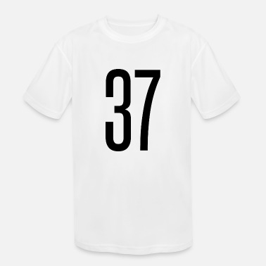 37 Number Tall number 37 - Kids' Sport T-Shirt