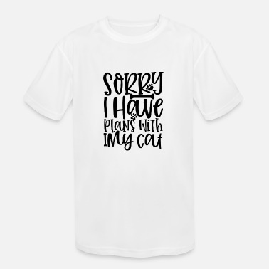 Pfalz Sorry I Have Plans With My cat - Kids' Sport T-Shirt