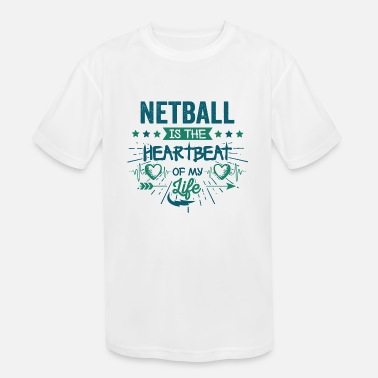 Quote Best Hilarious Netball Team Quotes Love Sayings - Kids' Sport T-Shirt