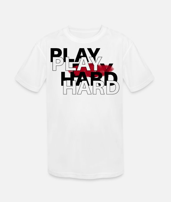 Heart T-Shirts - Play - Kids' Sport T-Shirt white