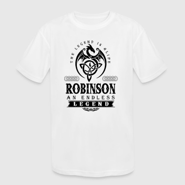 ROBINSON - Kid's Moisture Wicking Performance T-Shirt