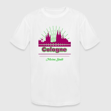 Cologne - Kid's Moisture Wicking Performance T-Shirt