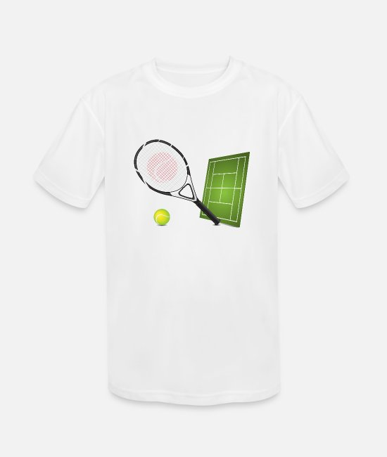 Tennis T-Shirts - Tennis - Sports - Kids' Sport T-Shirt white
