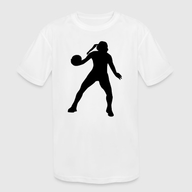 volleyball sports player spieler game waterball6 - Kid's Moisture Wicking Performance T-Shirt