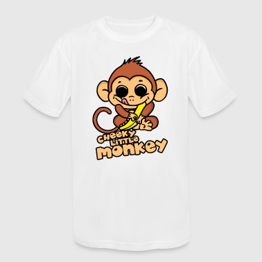Cheeky Little Monkey - Kid's Moisture Wicking Performance T-Shirt