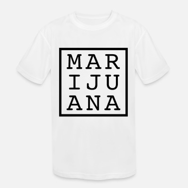 Smoke Weed MARIJUANA smoking weed - Kids' Sport T-Shirt