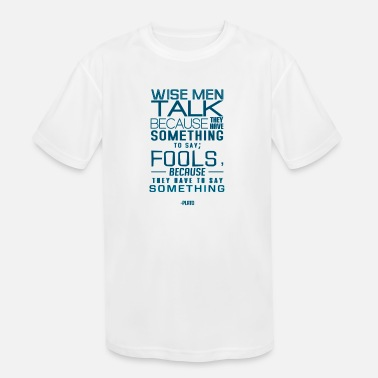 Inspirational Quotes Inspirational Quote - Kids' Sport T-Shirt
