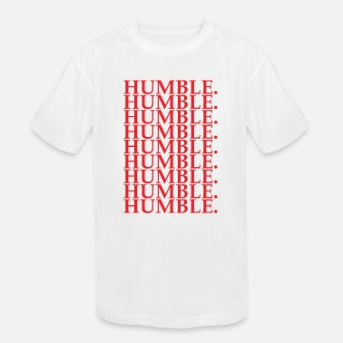Humbled HUMBLE - Kids' Moisture Wicking Performance T-Shirt