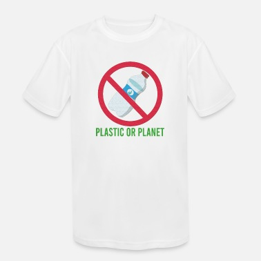 earth's day mangrove planting school waste free - Kids' Sport T-Shirt