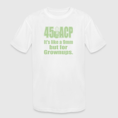 Except for Grownups - Kid's Moisture Wicking Performance T-Shirt