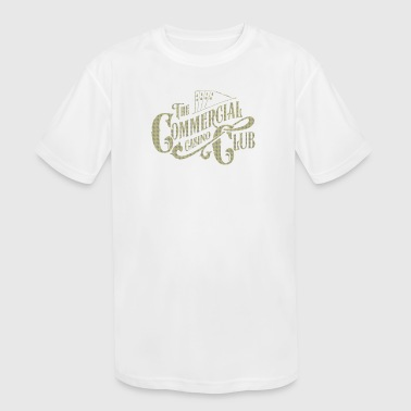 The comercial casino - Kid's Moisture Wicking Performance T-Shirt