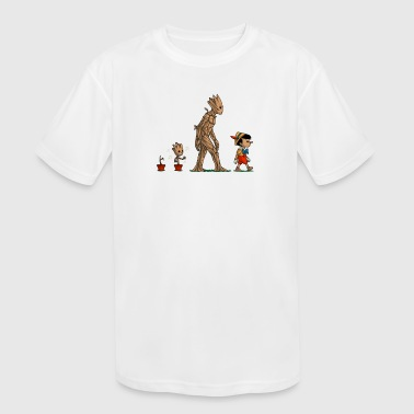 Galactic Heritage - Kid's Moisture Wicking Performance T-Shirt