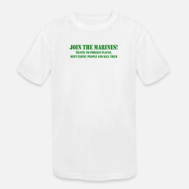 Join Join Marines - Kids' Sport T-Shirt