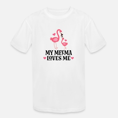Toddler//Kids Sporty T-Shirt My Nana in Hawaii Loves Me