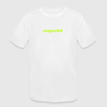 snapceleb fluo green - Kid's Moisture Wicking Performance T-Shirt