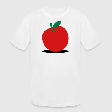 Apples A Delicious Red Apple! - Kid's Moisture Wicking Performance T-Shirt